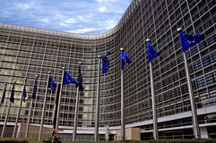 Comissão Européia Imagens de Stock Royalty Free