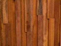 Comité bruine houten spatie Stock Afbeeldingen