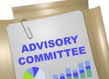 Comité consultatif - concept d'affaires Photos stock