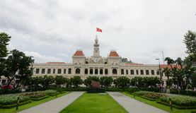 Comité Saigon Vietnam de la gente s Fotografía de archivo