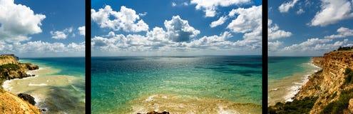 Comité strandlandschap Stock Foto
