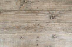 Comité van een houten piketomheining Stock Foto's
