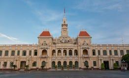 Comitê dos povos em Ho Chi Minh City Fotografia de Stock Royalty Free