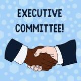 Comit? Ejecutivo del texto de la escritura de la palabra El concepto del negocio para el grupo de directores designados tiene aut libre illustration