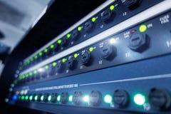 Comit? moderne servers in het datacentrum De technologie van de Supercomutertelecommunicatie E royalty-vrije stock afbeeldingen