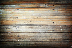 Comitati del legname con i chiodi Fotografia Stock Libera da Diritti