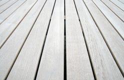 Comitati di legno del teck Fotografia Stock
