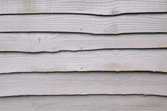 Comitati di legno esposti all'aria Immagine Stock