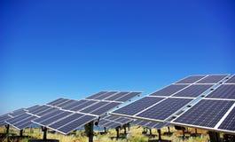 Comitati fotovoltaici. Fotografie Stock