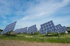 Comitati fotovoltaici Immagine Stock Libera da Diritti