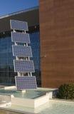 Comitati fotovoltaici Immagini Stock Libere da Diritti