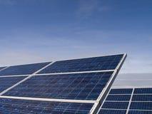 Comitati solari Fotografia Stock Libera da Diritti