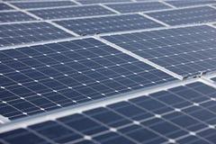 Comitati solari moderni Fotografia Stock