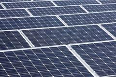 Comitati solari moderni Immagini Stock