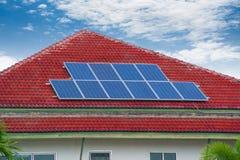 Comitato della pila solare Immagine Stock Libera da Diritti