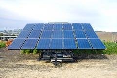 Comitato delle pile solari Fotografia Stock Libera da Diritti