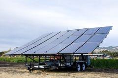 Comitato delle pile solari Fotografia Stock