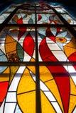 Comitato dello Stained-glass Fotografia Stock