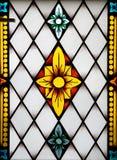 Comitato dello Stained-glass nel mus immagine stock
