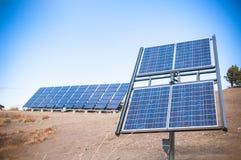 Comitato di energia solare immagini stock libere da diritti