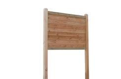 Comitato di legno Immagini Stock