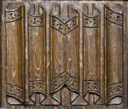 Comitato di legno della chiesa Fotografia Stock Libera da Diritti