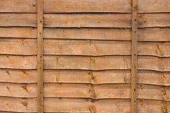 Comitato di legno della rete fissa Fotografia Stock