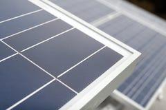 Comitato a energia solare Fotografia Stock Libera da Diritti