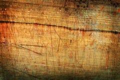 Comitato Grungy del legname Immagini Stock Libere da Diritti