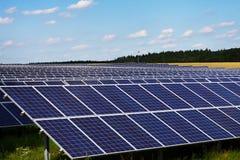 Comitato solare Immagini Stock Libere da Diritti