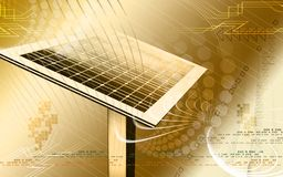 Comitato solare illustrazione di stock