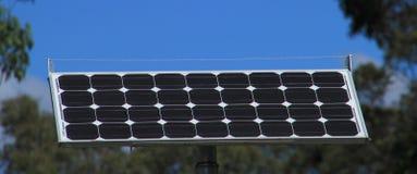 Comitato solare - cielo blu Immagine Stock