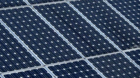 Comitato solare Energia alternativa fotografie stock libere da diritti