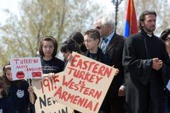 Commémoration de génocide arménien Image stock