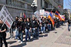 Commémoration de génocide arménien Photos libres de droits