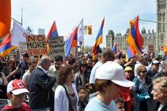 Commémoration de génocide arménien Photographie stock libre de droits