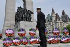 Commémoration de la bataille de l'Océan atlantique Photo stock