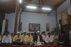 COMMÉMORATION DE LA MORT DE L'ISLAM DE JAVANESE DE L'INDONÉSIE Photo libre de droits