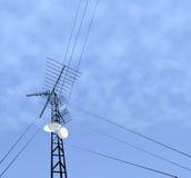 Comm-Kontrollturm Stockbilder
