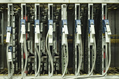 Comm. tarjeta de circuitos. fotografía de archivo