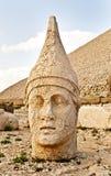 Commagene王国的雕塑, Nemrut山 免版税图库摄影
