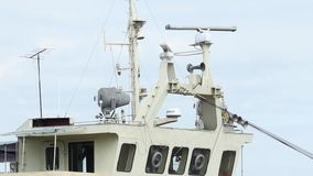 Command Bridge on Ship stock video footage