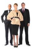 Command of businessmen Stock Photos
