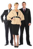 Command of businessmen Stock Image