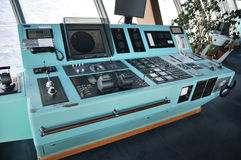 Command center. On board a cruise ship Royalty Free Stock Images