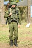 Command post exercises Airborne Division in Russia Stock Images