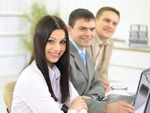 Command(team) of the business people Stock Image
