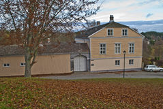 Commandant's residence on fredriksten fortress Royalty Free Stock Image