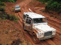 Commande à quatre roues en Malaisie Photographie stock libre de droits