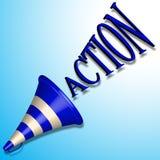 Commande d'action illustration de vecteur